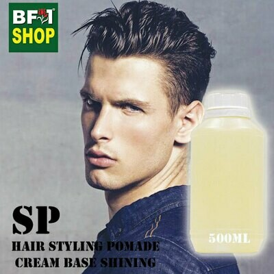 SP - Hair Styling Pomade - Cream Base Shining - 500ml