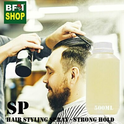 SP - Hair Styling Spray - Strong Hold - 500ml