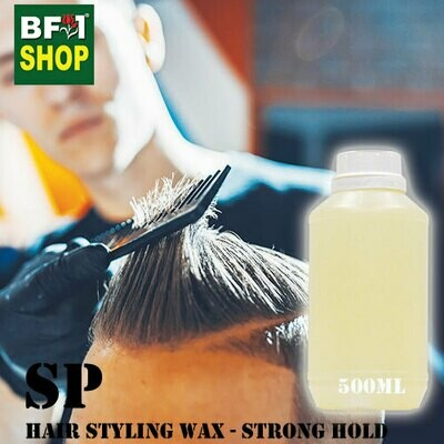 SP - Hair Styling Wax - Strong Hold - 500ml