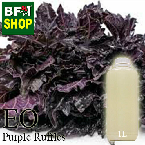 Essential Oil - Basil - Purple Ruffles Basil - 1L