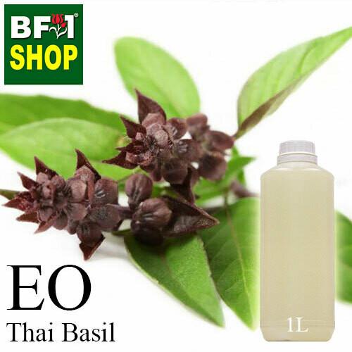 Essential Oil - Basil - Cinnamon Basil ( Thai Basil ) - 1L