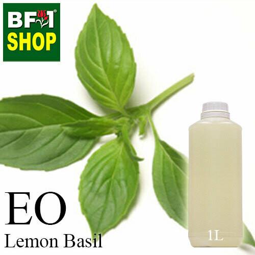 Essential Oil - Basil -Lemon Basil ( Citriodorum Basil ) - 1L