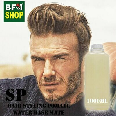 SP - Hair Styling Pomade - Water Base Mate - 1000ml