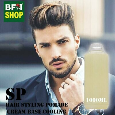 SP - Hair Styling Pomade - Cream Base Cooling - 1000ml