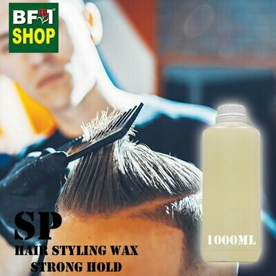 SP - Hair Styling Wax - Strong Hold- 1000ml