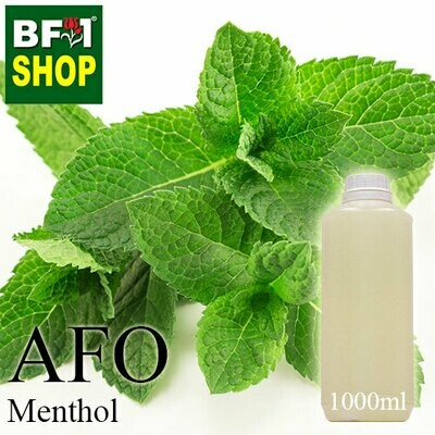 AFO - Menthol Aromatic Fragrance Oil - 1L