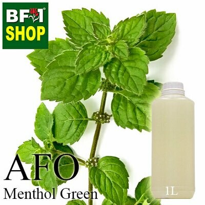 AFO - Menthol Green Aromatic Fragrance Oil - 1L