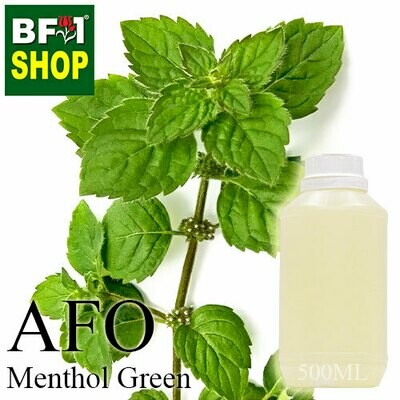 AFO - Menthol Green Aromatic Fragrance Oil - 500ml
