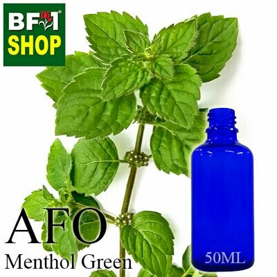 AFO - Menthol Green Aromatic Fragrance Oil - 50ml
