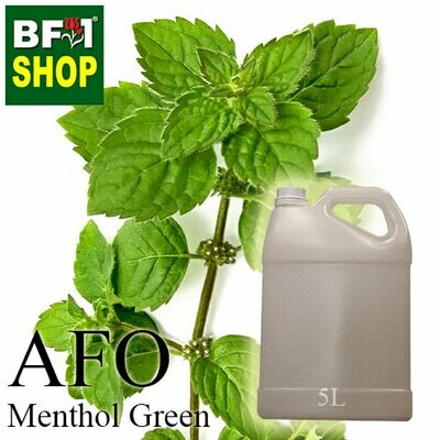 AFO - Menthol Green Aromatic Fragrance Oil - 5L