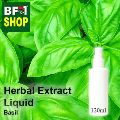 Herbal Extract Liquid - Basil Herbal Water - 120ml