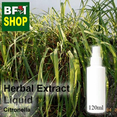 Herbal Extract Liquid - Citronella Herbal Water - 120ml