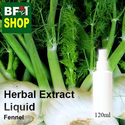 Herbal Extract Liquid - Fennel Herbal Water - 120ml