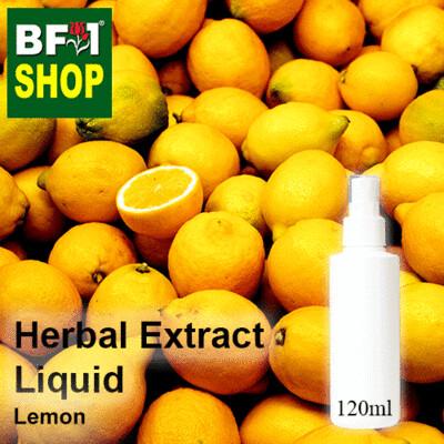 Herbal Extract Liquid - Lemon Herbal Water - 120ml