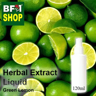 Herbal Extract Liquid - Green Lemon Herbal Water - 120ml