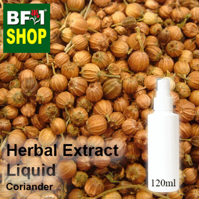 Herbal Extract Liquid - Coriander Herbal Water - 120ml