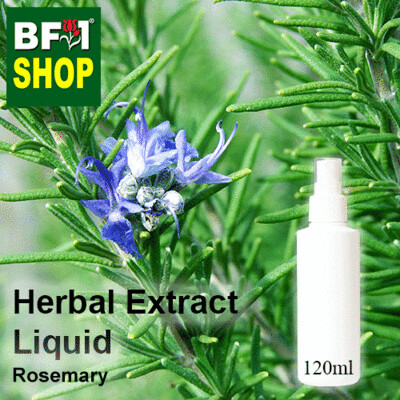 Herbal Extract Liquid - Rosemary Herbal Water - 120ml