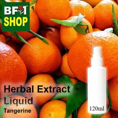 Herbal Extract Liquid - Tangerine Herbal Water - 120ml