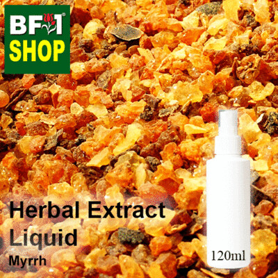 Herbal Extract Liquid - Myrrh Herbal Water - 120ml