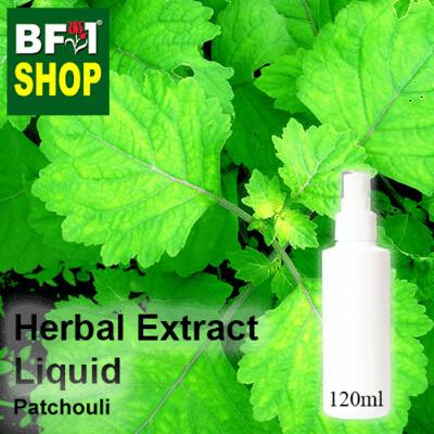 Herbal Extract Liquid - Patchouli Herbal Water - 120ml