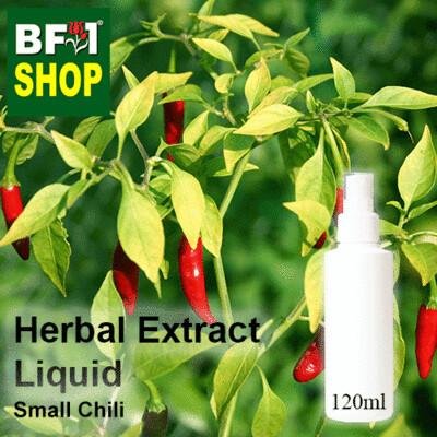 Herbal Extract Liquid - Small Chili Herbal Water - 120ml
