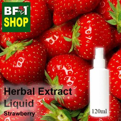 Herbal Extract Liquid - Strawberry Herbal Water - 120ml