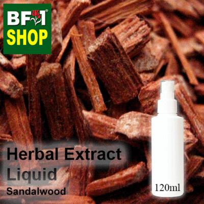 Herbal Extract Liquid - Sandalwood Herbal Water - 120ml