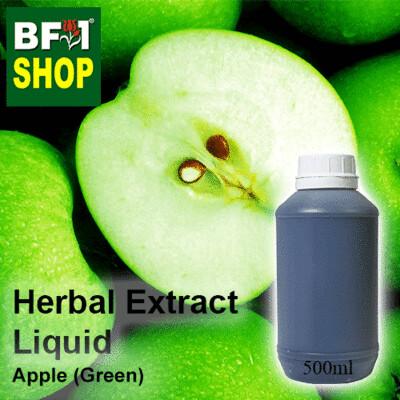 Herbal Extract Liquid - Apple (Green) Herbal Water - 500ml