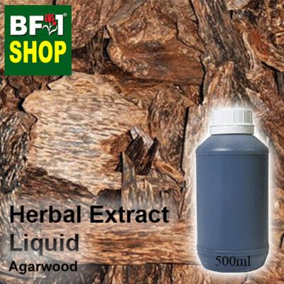 Herbal Extract Liquid - Agarwood Herbal Water - 500ml