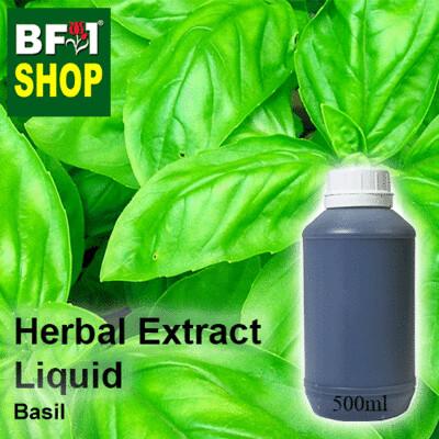 Herbal Extract Liquid - Basil Herbal Water - 500ml