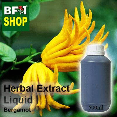 Herbal Extract Liquid - Bergamot Herbal Water - 500ml