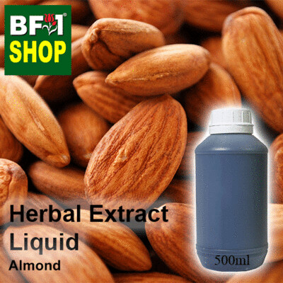 Herbal Extract Liquid - Almond Herbal Water - 500ml