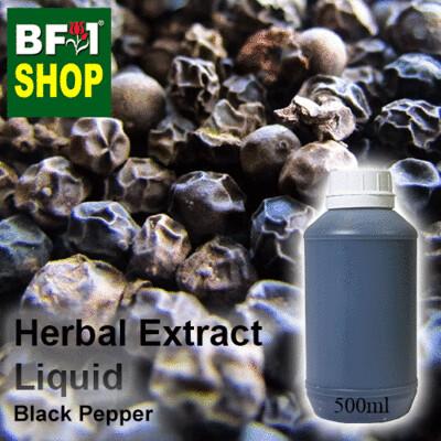 Herbal Extract Liquid - Black Pepper Herbal Water - 500ml