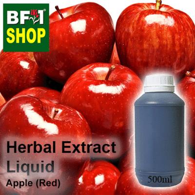 Herbal Extract Liquid - Apple (Red) Herbal Water - 500ml
