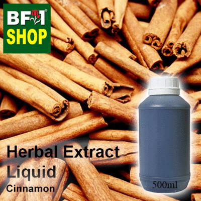 Herbal Extract Liquid - Cinnamon Herbal Water  - 500ml