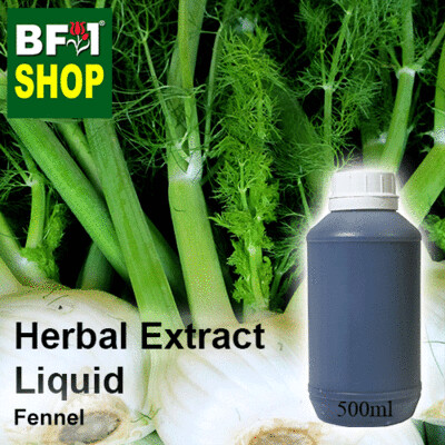 Herbal Extract Liquid - Fennel Herbal Water - 500ml