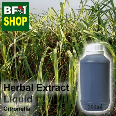 Herbal Extract Liquid - Citronella Herbal Water - 500ml