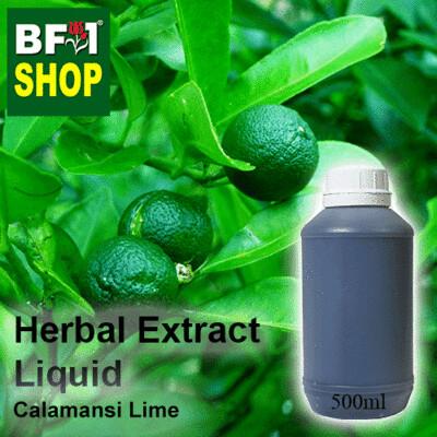 Herbal Extract Liquid - Calamansi Lime Herbal Water - 500ml