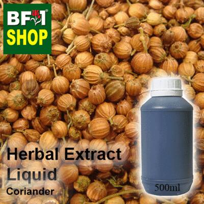 Herbal Extract Liquid - Coriander Herbal Water - 500ml