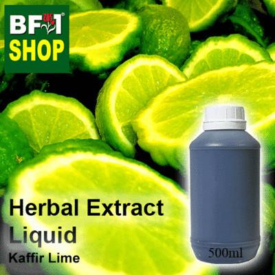 Herbal Extract Liquid - Kaffir Lime Herbal Water - 500ml