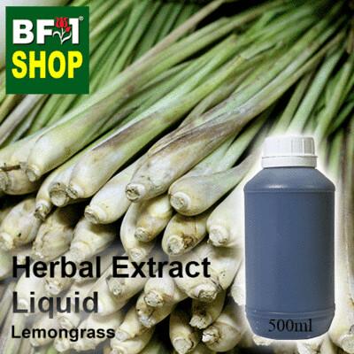 Herbal Extract Liquid - Lemongrass Herbal Water - 500ml