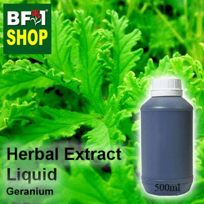 Herbal Extract Liquid - Geranium Herbal Water - 500ml