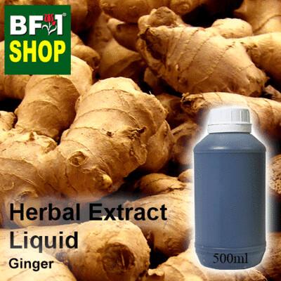 Herbal Extract Liquid - Ginger Herbal Water - 500ml