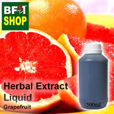 Herbal Extract Liquid - Grapefruit Herbal Water - 500ml