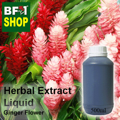 Herbal Extract Liquid - Ginger Flower Herbal Water - 500ml