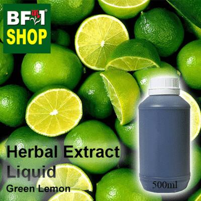 Herbal Extract Liquid - Green Lemon Herbal Water - 500ml