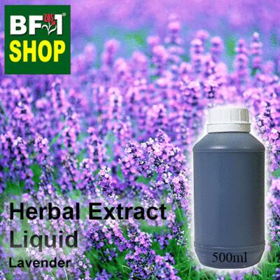 Herbal Extract Liquid - Lavender Herbal Water - 500ml