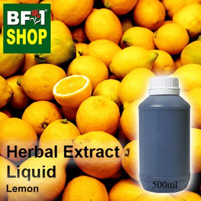 Herbal Extract Liquid - Lemon Herbal Water  - 500ml