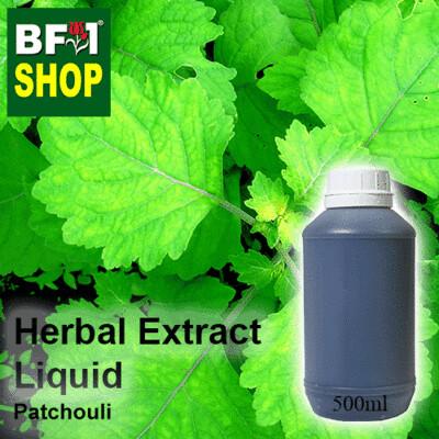 Herbal Extract Liquid - Patchouli Herbal Water - 500ml