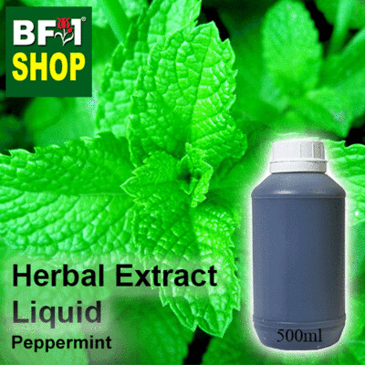 Herbal Extract Liquid - Peppermint Herbal Water - 500ml
